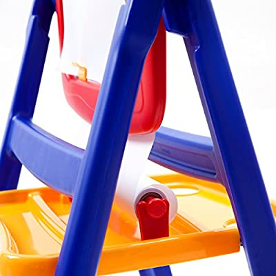 Crayola Qwik Flip 2 Sided Easel: Toys & Games