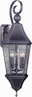 product image for Framburg 8744 IRON 5-Light Normandy Exterior Wall Mount, Iron