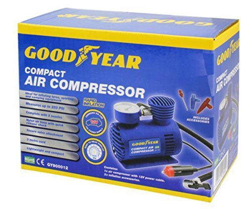 Goodyear,  Mini compresseur à air  Mini compresseur à air 900012