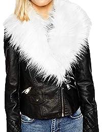 654d6734396 Amazon.com  Under  25 - Leather   Faux Leather   Coats
