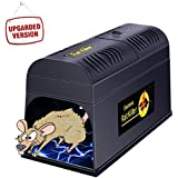 Electronic Rat and Rodent Trap by Ovinm - Powfully Kill and Eliminate Rats, Mice or Other Similar Rodents Efficiently and Safely