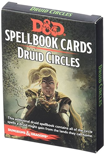 Cards Circle - D&D Spellbook Cards Druid Circles