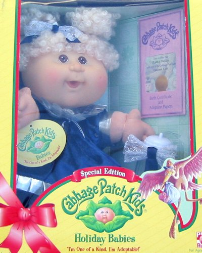Amazon. Com: cabbage patch kids holiday baby special edition.