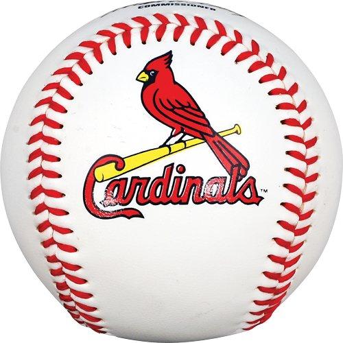 - MLB St. Louis Cardinals Baseball with Team Logo