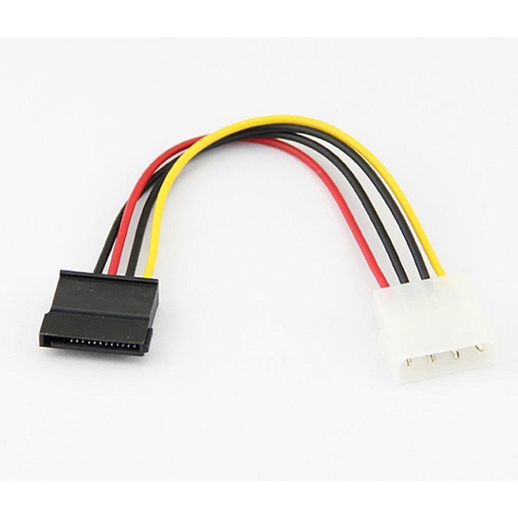 New 18cm USB2.0 IDE to Serial ATA SATA HDD Hard Drive Power Adapter Cable Cord ,Tuscom (1PC)
