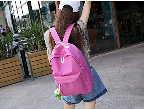 Secondary College A Bag Wind Junior Travel Backpack Student Solid Color Vhvcx Woman Leisure OwZf0gYq