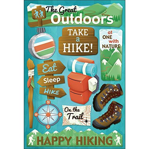 Outdoor Quotes Scrapbooking Sticker Sheet made our list of Outdoor Inspirational And Funny Camping Quotes