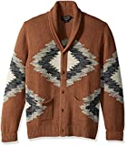 Pendleton Men's Nor-Wester Sweater, Camel Space Dye, LG