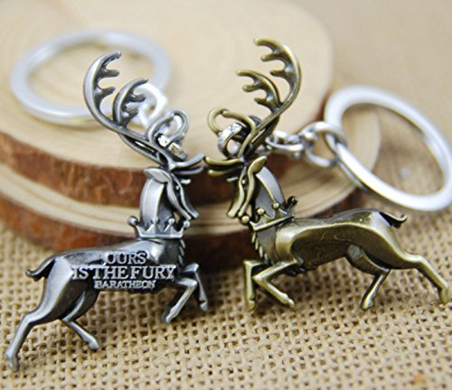 Huloo Game of Thrones House Baratheon latest sign key ring z