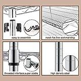 Meet Perfect 6-Shelf Shelving Storage Unit,Heavy