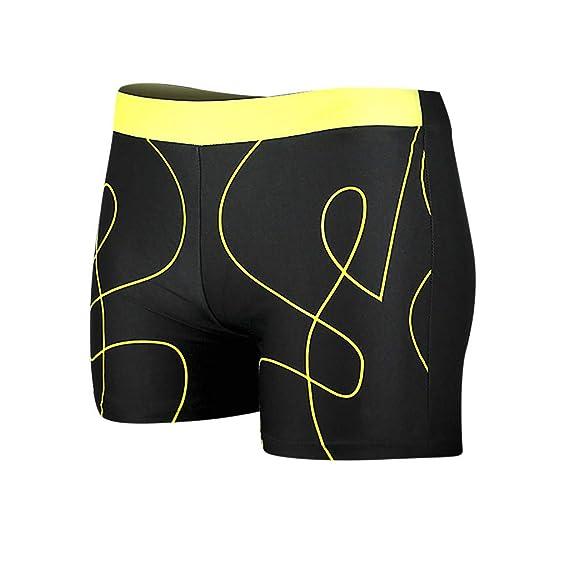 Bañador Trajes de Baño Estampada de Hombres de Natación Pantalones Cortos  para Tabla de Surf de Playa Shorts BIBOKAOKE  Amazon.es  Ropa y accesorios 01ca50b37f1