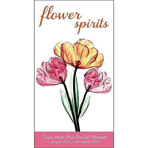 Flower Spirits 2017 Checkbook/2 year pocket planner Calendar