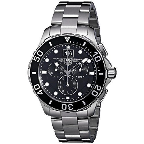 - Tag Heuer Aquaracer Grande Date Mens Watch CAN1010.BA0821 Wrist Watch (Wristwatch)