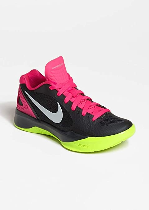Nike New Other Volley Zoom Hyperspike Women s 13 Volleyball Shoe  Blk Pnk Volt fe349b0e9