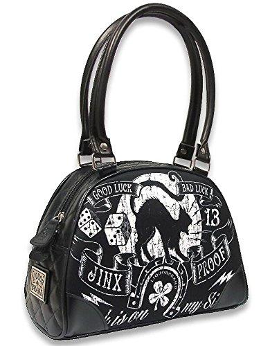 Liquor Brand Damen Tasche Handtasche Jinx Proof B-BW-032