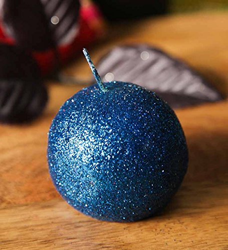 Blackberry Overseas Ball Shaped Sparkle Candle
