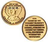 Personalized Custom Engraved Out of The Ashes Phoenix AA (Alcoholics Anonymous)-Birthday-Addiction Recovery-Sober-Sobriety-Coin-Medallion-Chip