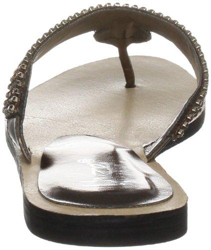 Unze Evening Sandals L18580W - Sandalias para mujer Marrón