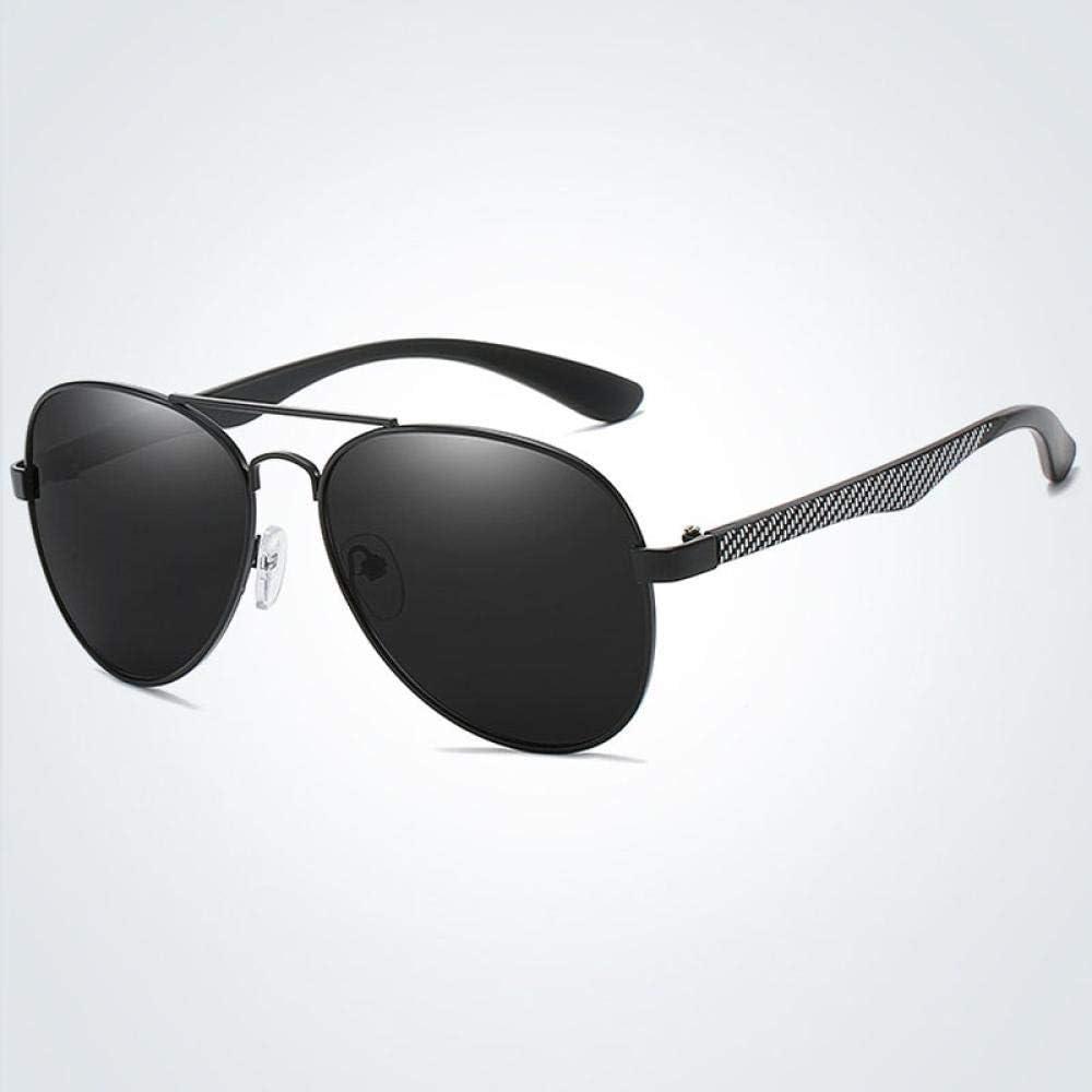 Sunglasses Gafas De Sol Polarizadas Clásicas para Hombre, Diseño De Marca, Gafas De Sol De Conducción De Metal para Mujer, Gafas De Sol con Revestimiento para Hombre, Som