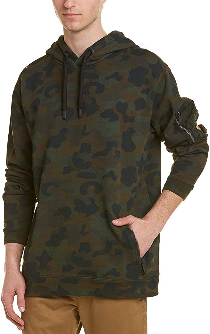 NEW Super Dry Men's Athletic Rookie Oversized Hoodie Authentic 100/% Cotton