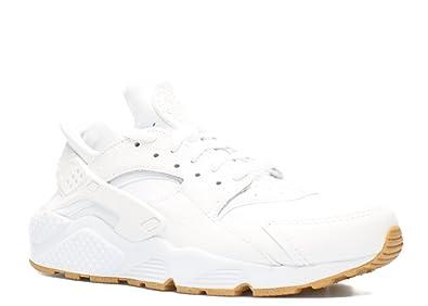 cc6911bda307 Nike Men Air Huarache Run PA All White Out Ostrich Running Gum 705008-111 (