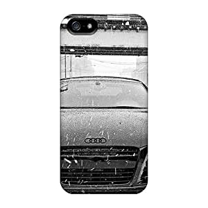 New Design Shatterproof YlEFJ5348siWuc Case For Iphone 5/5s (audi R8 In Snow)