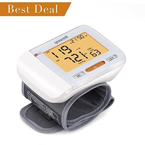 automatic portable wrist blood pressure