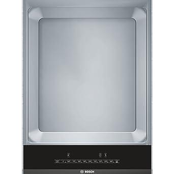 Bosch PKY475FB1E 1900W Integrado Metal placa teppanyaki - Placas teppanyaki (Integrado, Metal, Negro, Acero inoxidable, 1 m, Tocar, Parte superior ...