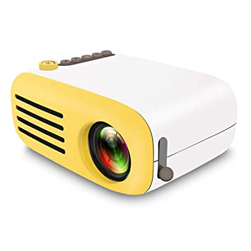 Beautyrain Proyector Mini, proyector de Video HD Cine en ...