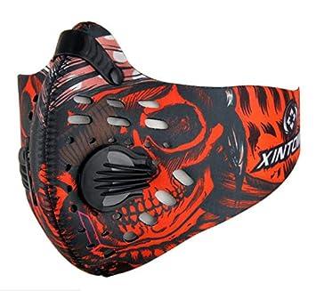 DUABOBAO Xintown Montar Máscara De Carbón Activado-Máscaras De Polvo Al Aire Libre Hombres Y