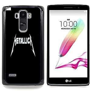 """Qstar Arte & diseño plástico duro Fundas Cover Cubre Hard Case Cover para LG G4 Stylus H540 (Metálico A"""")"""
