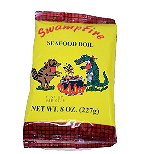 (Swamp Fire Crab, Crawfish and Shrimp Complete Cajun Seafood Boil, 8 Ounce Bag)