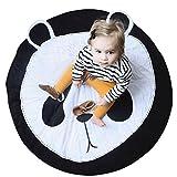 Leegor Baby Infant Creeping Mat Cartoon Playmat Blanket Play Game Mat Room Decoration Photography Props (B)