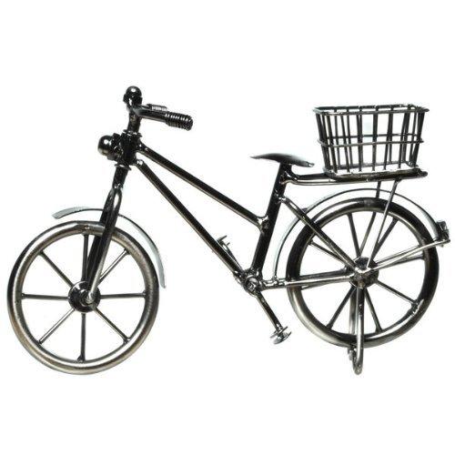 Deko Fahrrad mit Korb 11 x 18 cm