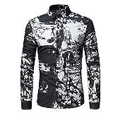 Longay Men%2592s Prints Shirt Plus Size