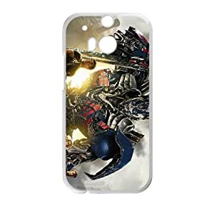 HTC One M8 White Transformers phone case Christmas Gifts&Gift Attractive Phone Case HLN5A0224162