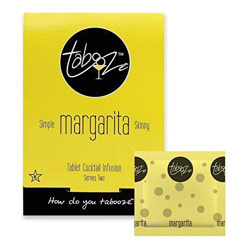 Margarita Drink Mixers - Tabooze Skinny Margarita Sugar Free Cocktail & Drink Mixer Tablets (16 Tablets)