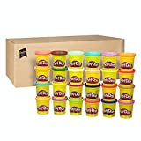 Play-Doh Modeling Compound 24-Pack Case of Colors, Non-Toxic, Assorted Colors, 3-Ounce Cans, Ages 2 and up (Amazon Exclusive)