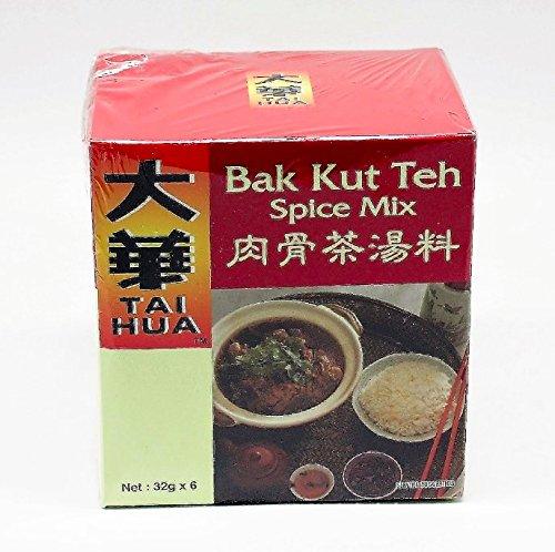 Tai Hua Bak Kut Teh Value Pack 6 x 32g (Product of Singapore) by Tai Hua