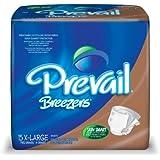 Prevail Breezers Adult Briefs, X-Large, 15 Count