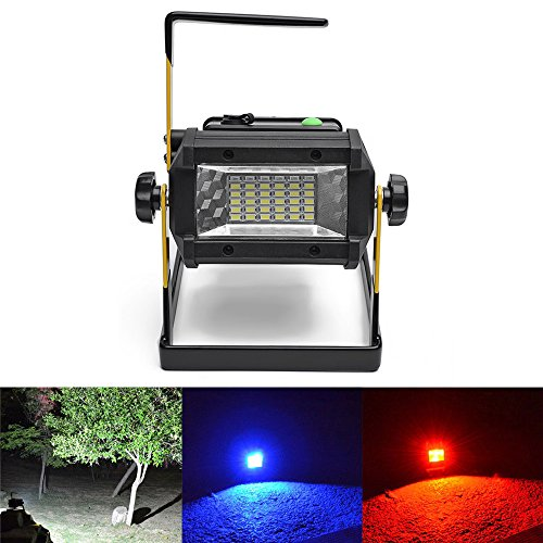 Garage Laser Parking Assistant (High Power Light Upgrade 30+3+3 LEDs Multi task Lighting Adjustable WTP Design Emergency Roadside SOS Signal Car Home Necessary Tools Suit for Outdoor Camping, Fishing, Garage Etc. APL-6)