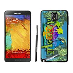 Samsung Note 3 Case,2015 Hot New Fashion Stylish margaritaville jimmy buffett (2) Black Case Cover for Samsung Note 3