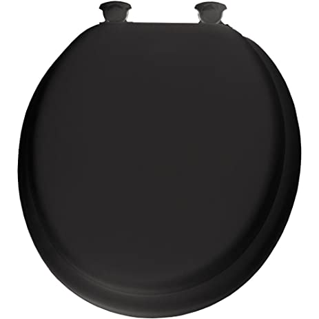 Mayfair 13EC 047 Soft Toilet Seat with Molded Wood Core and Easy Clean    ChangeMayfair 13EC 047 Soft Toilet Seat with Molded Wood Core and Easy  . Wooden Black Toilet Seat. Home Design Ideas