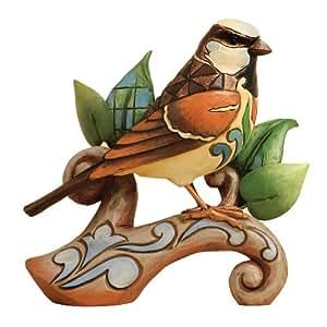 Enesco Jim Shore Heartwood Creek Sparrow Figurine, 4.5-Inch
