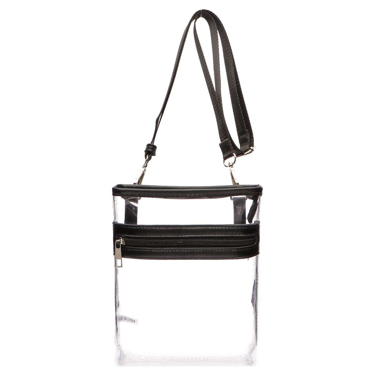 NFL Stadiums Concerts Approved Crossbody Clear Bag