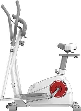 YXRPK Multifuncional Professional De Ejercicio Bicicleta Estática Elíptica, con Asiento Ajustable, 8 Ajustes Efectivos De Resistencia, Múltiples Modos Opcionales: Amazon.es: Deportes y aire libre