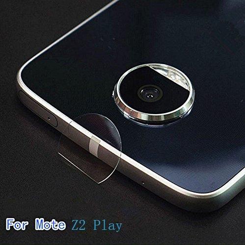 2X Transparent Clear Camera Protector Lens Flexible fiber Film For Motorola Moto Z2 Play / Z2 Force