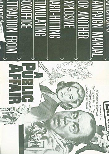 A Catholic Affair (1962) Myron McCormick, Edward Binns, Judson Pratt Pressbook