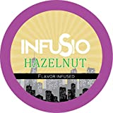 96 Count - Hazelnut Flavored InfuSio Coffee, Single-serve Cups for Keurig K-cup Brewers - Premium Roasted Coffee (96 count Compatible with 2.0)
