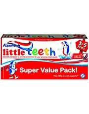 Aquafresh Little Teeth Toothpaste, 50ml (Twin Pack)